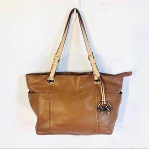 Michael Kors soft leather bag